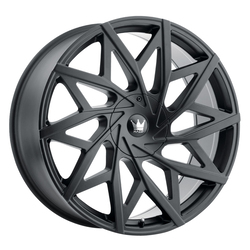 Mazzi Wheels 372 Big Easy - Matte Black Rim