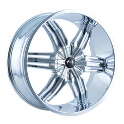 Mazzi Wheels Rush 792 - Chrome Rim - 24x9.5