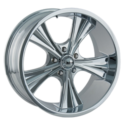 Ridler Wheels 651 - Chrome Rim - 22x9.5