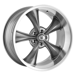 Ridler Wheels Ridler Wheels 695 - Grey w/ Machined Lip