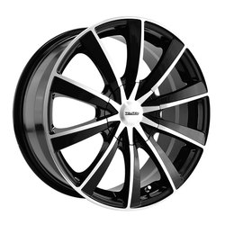 TR10 3210 - Black/Machined Face - 18x8