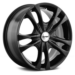 Touren Wheels TR22 3222 - Black Rim - 17x7