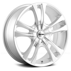 Touren Wheels TR22 3222 - Hyper Silver - 17x7