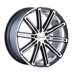 Touren Wheels TR40 3240 - Matte Black/Machined Face/Machined Undercut - 22x8.5