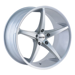 Touren Wheels Touren Wheels TR70 3270 - Silver/Milled Spokes - 20x8.5