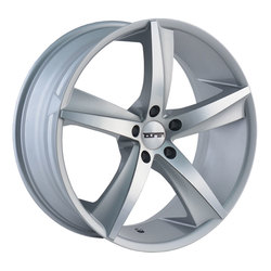 Touren Wheels TR72 3272 - Gloss Silver/Machined Face Rim - 18x8