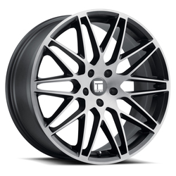 Touren Wheels TR75 3275 - Brushed Matte Black w/Dark Tint - 19x8.5