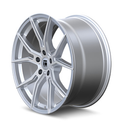 Touren Wheels 3501 TF01 - Brushed Silver Gloss Rim - 22x10.5