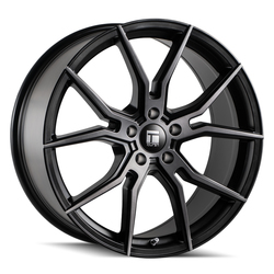 Touren Wheels 3501 TF01 - Brushed Matte Black w/Dark Tint Rim