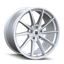 Touren Wheels TF02 3502 - Brushed Silver Gloss Rim