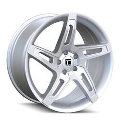 Touren Wheels TF04 3504 - Brushed Silver Rim - 18x8