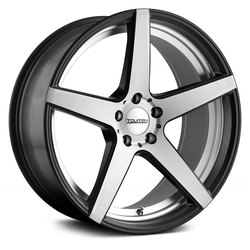 Touren Wheels TR20 3220 - Matte Black w/Machined Face and Undercut - 20x9.5
