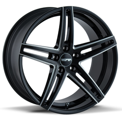 Touren Wheels TR73 3273 - Gloss Black/Milled Spokes Rim - 18x8