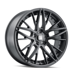 Touren Wheels TR93 3293 - Satin Black/Black Rivets Rim