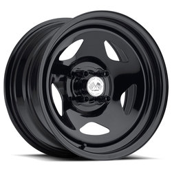 U.S. Wheel Star 021 - Black Rim - 16x10
