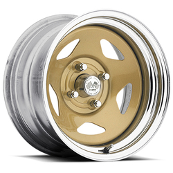 U.S. Wheel Star 021 - Gold/Chrome