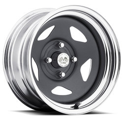 U.S. Wheel Daytona 022 - Gunmetal/Chrome Rim - 16x10