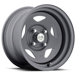 U.S. Wheel Star 021 - Gunmetal Rim - 16x10