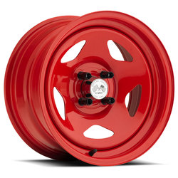 U.S. Wheel Star 021 - Red Rim - 16x10