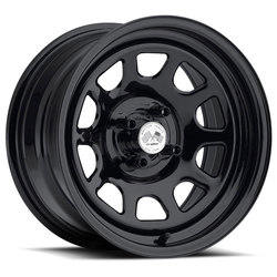 U.S. Wheel Daytona 022 - Black Rim - 16x10