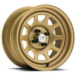 U.S. Wheel Daytona 022 - Gold Rim - 16x10