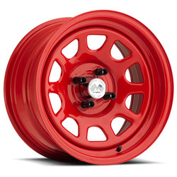U.S. Wheel Daytona 022 - Red Rim - 16x10