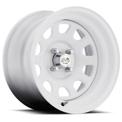 U.S. Wheel Daytona 022 - White Rim - 16x10