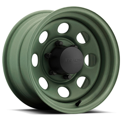 U.S. Wheel U.S. Wheel Crawler Stealth 44 - Camo Green - 15x10