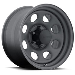 U.S. Wheel Crawler Stealth 44 - Gunmetal Rim - 16x10