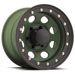 U.S. Wheel U.S. Wheel Crawler BL Stealth 046 - Camo Green - 17x8