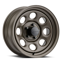 U.S. Wheel Crawler Stealth 49 - Bronze Rim - 15x10