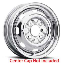 U.S. Wheel VW OEM 130 - Chrome Rim - 15x4.5