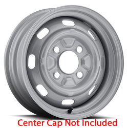 U.S. Wheel VW OEM 131 - Silver Rim - 15x5.5