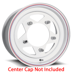 U.S. Wheel VW Baja Star 27 - White Rim - 15x5