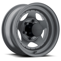 U.S. Wheel Star 304 - Gunmetal Rim - 16x10