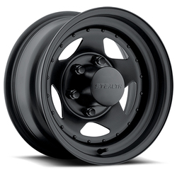 U.S. Wheel Star 304 - Matte Black