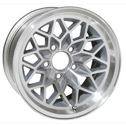 U.S. Wheel Snowflake 350 - Silver/Machine