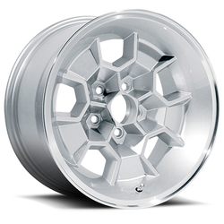 U.S. Wheel Honeycomb 379 - Silver/Machine