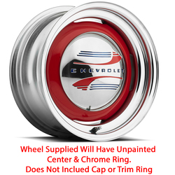 U.S. Wheel Deuce 456 - Raw/Chrome Rim - 15x5