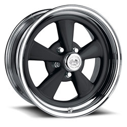 U.S. Wheel Super Spoke 463 - Black/Chrome