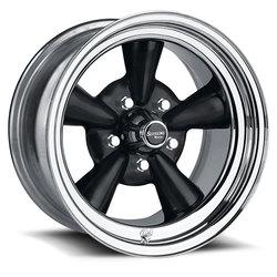U.S. Wheel Supreme 483 - Black/Chrome Rim