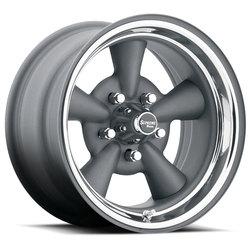 U.S. Wheel 484 - Gunmtl/Chrome Rim