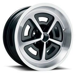 U.S. Wheel Magnum 527 - Black/Machine