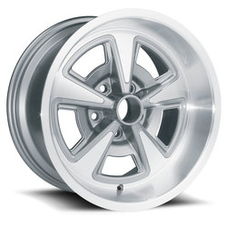 U.S. Wheel Ralyee II 528 - Gunmetal/Machine
