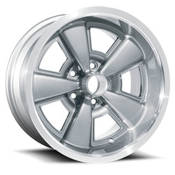 U.S. Wheel 5 Spoke 615 - Gunmetal/Machine