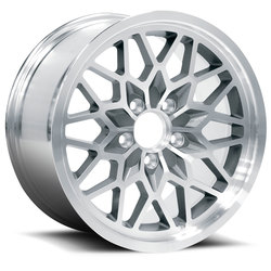 U.S. Wheel 4th Gen Snowflake 616 - Gunmetal/Machine