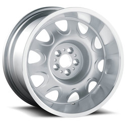 U.S. Wheel Mopar Rallye 619 - Silver/Machine