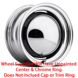 U.S. Wheel OE 656 - Raw/Chrome Rim - 15x5