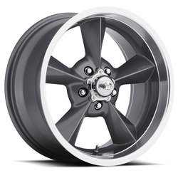 U.S. Wheel Retro 701 - Gunmetal Rim - 15x5