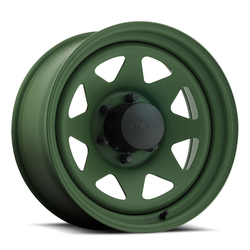 U.S. Wheel 8 Spoke Stealth 704 - Camo Green - 16.5x9.75